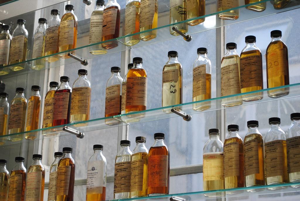 como se hace el whisky