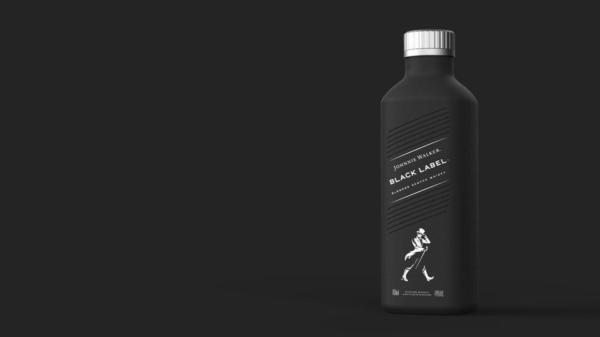 nueva botella de Johnnie Walker