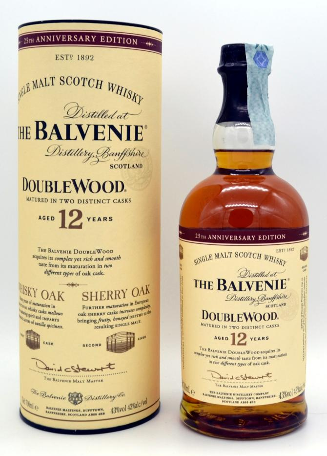 The Balvenie 12 double wood
